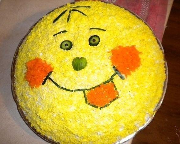 Легкий салаты на день рождения