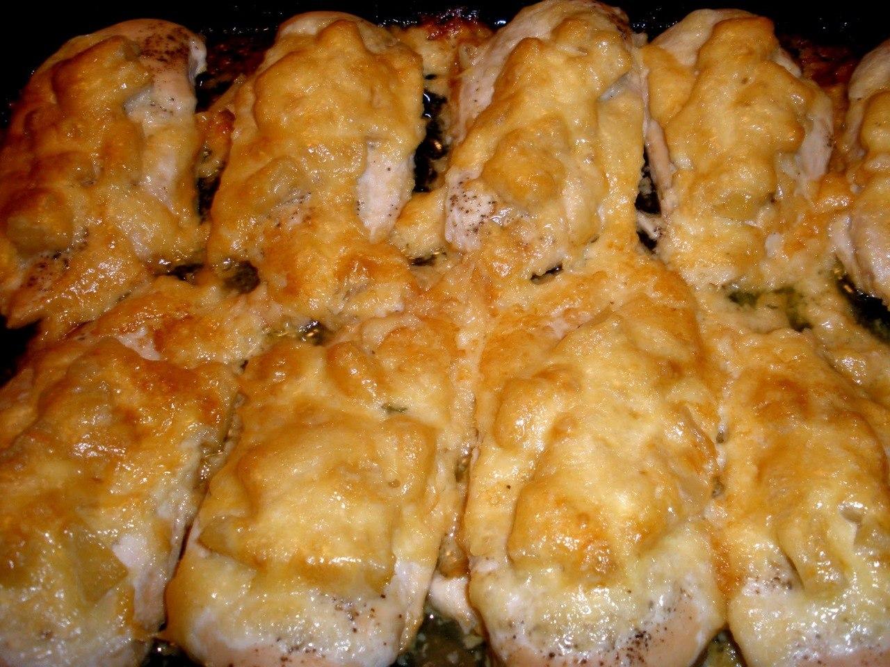 Куриное филе в духовке рецепт с пошагово